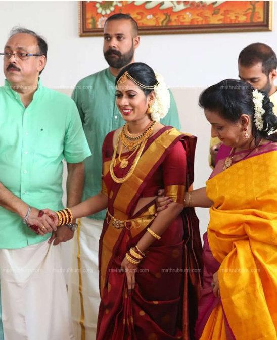 Actor Ratheesh Daughter Padma Wedding Photos 300 00462