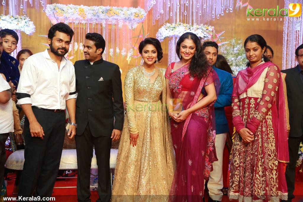 shobhana at amala paul marriage reception photos 00451 kerala9 com