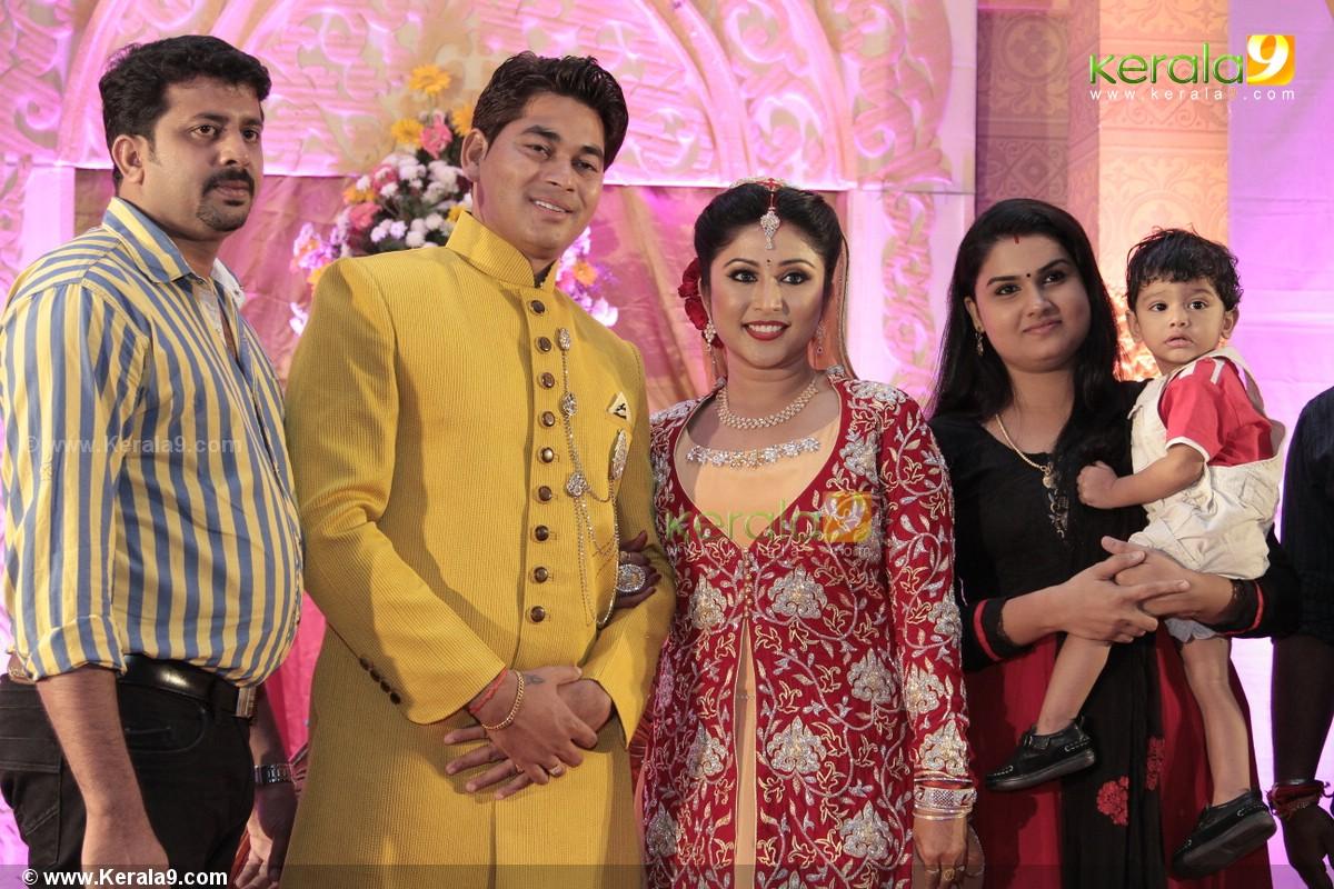 Serial Actress Archana Suseelan Marriage Reception Photos