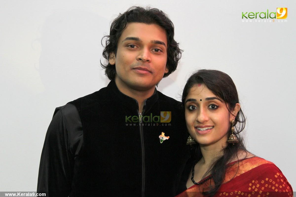 156 Rahul Easwar Deepa At Archana Suseelan Wedding Reception Photos85