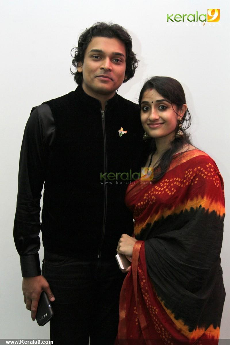 157 Rahul Easwar Deepa At Archana Suseelan Wedding Reception