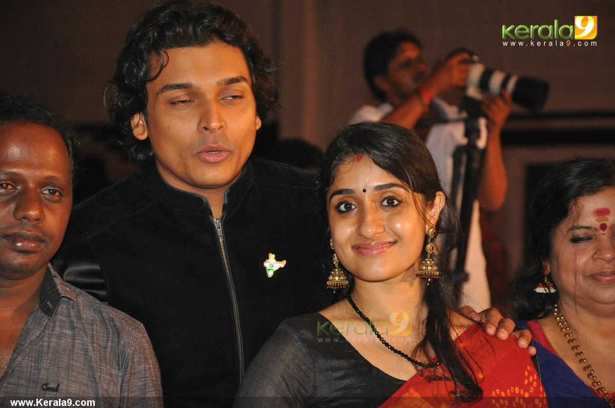 206 Rahul Easwar Deepa At Archana Suseelan Wedding Reception