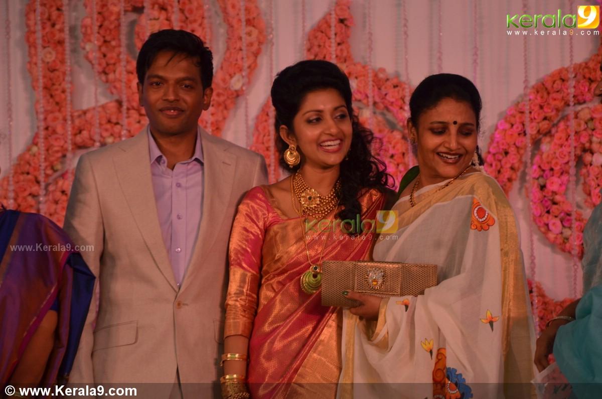Karthika At Meera Jasmine Wedding Reception Photos 00148