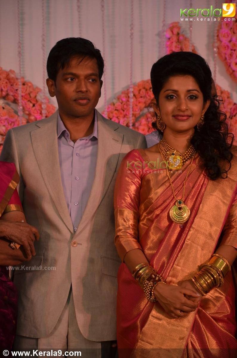 Meera Jasmine Wedding Reception Photos 05052 Kerala9