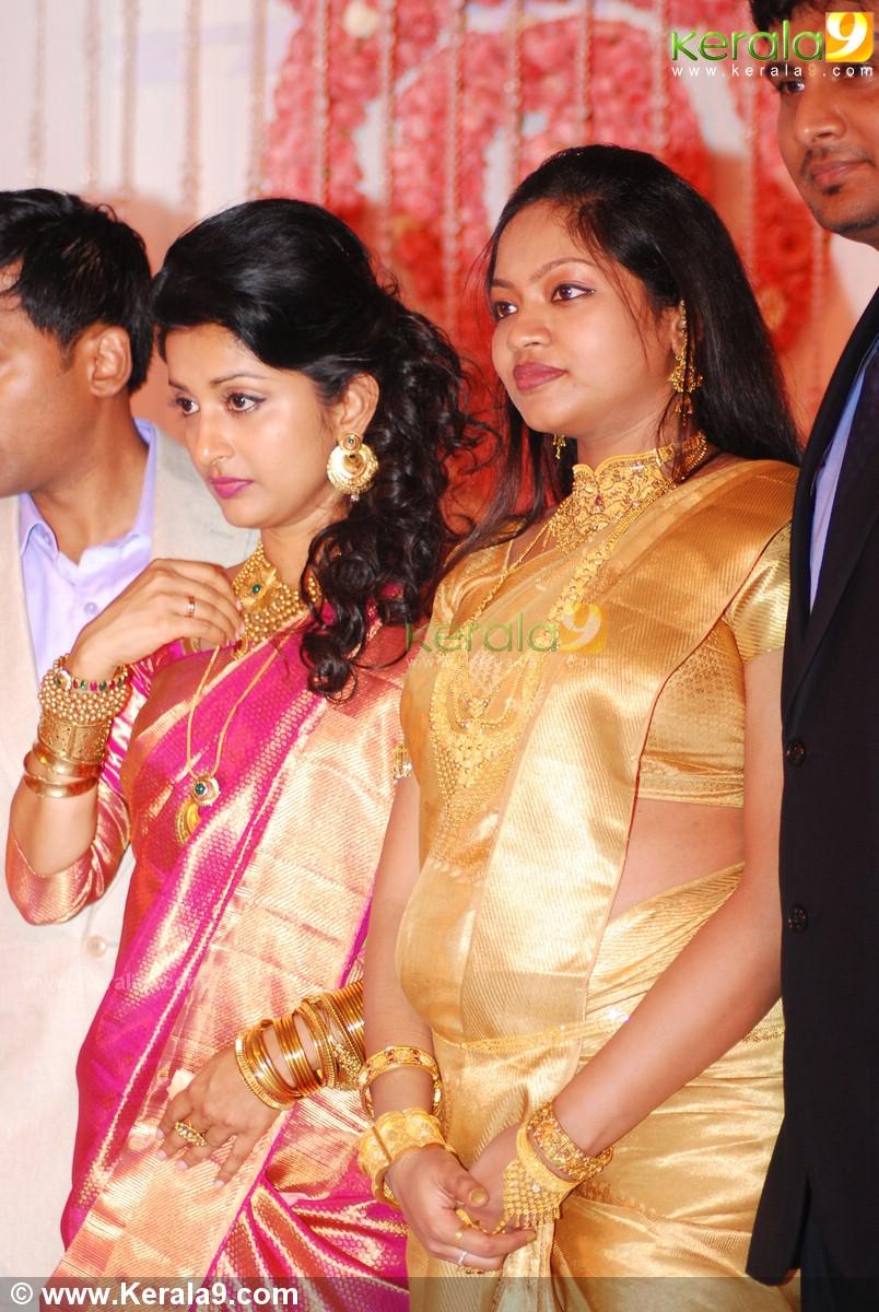 Meera Jasmine Wedding Reception Photos 1486 Kerala9