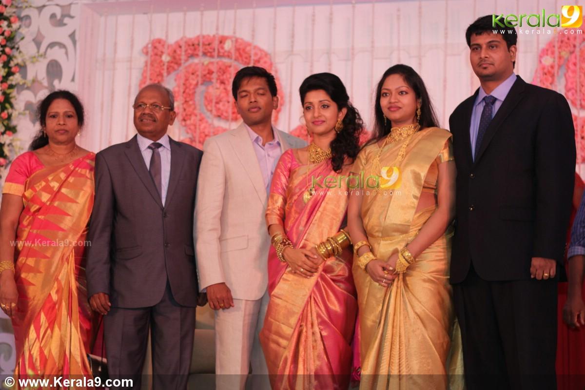Meera Jasmine Wedding Reception Photos 15976 Kerala9