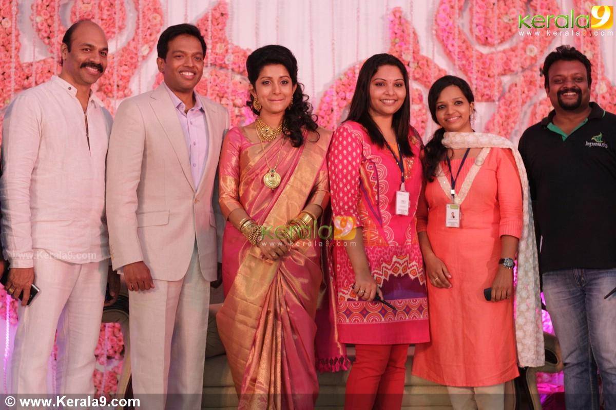 Meera Jasmine Wedding Reception Pics 01523 Kerala9
