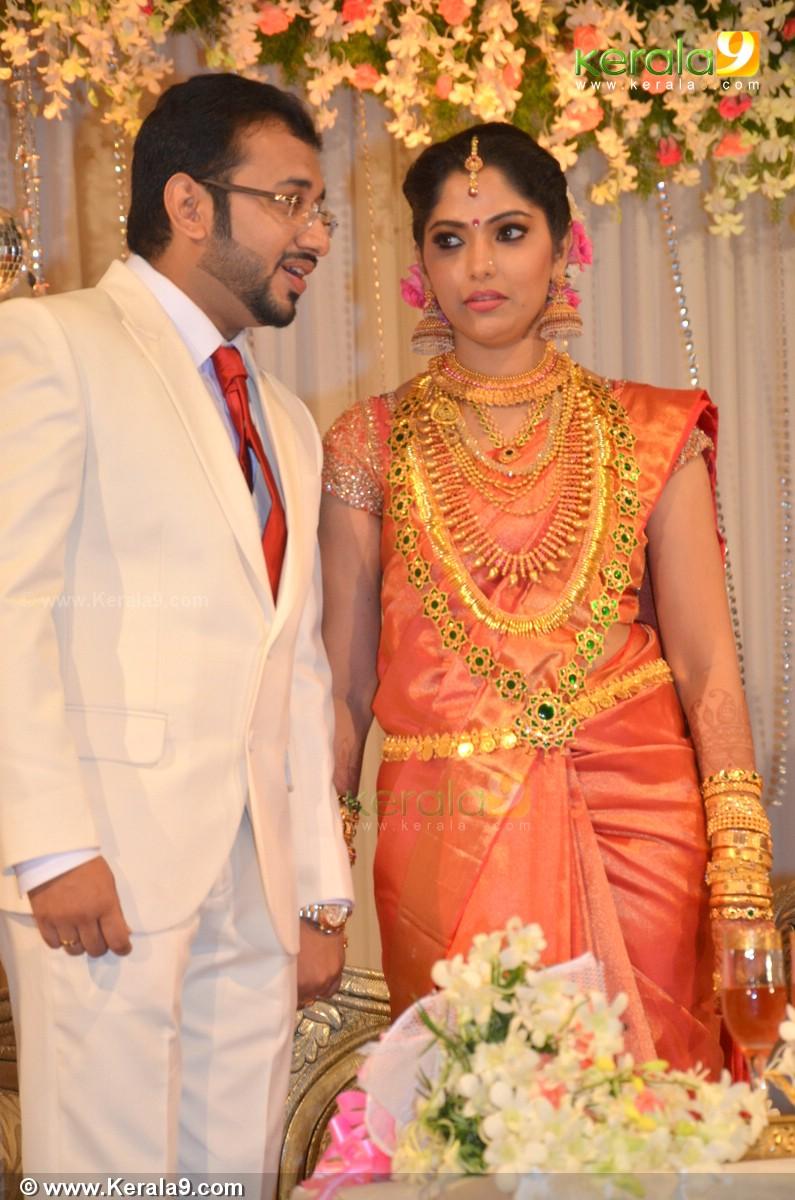 muktha george marriage reception photos 01286 kerala9 com