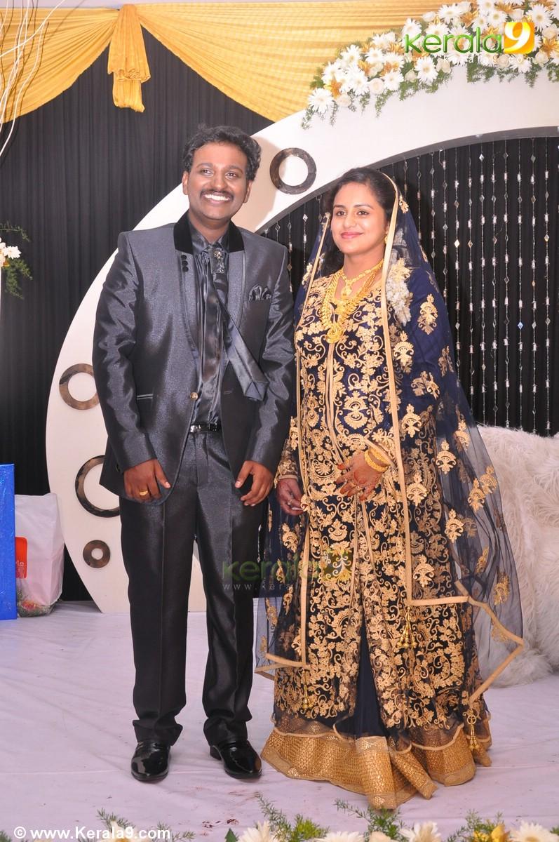 Idea Star Singer Najim Arshad Wedding Reception Photos 00