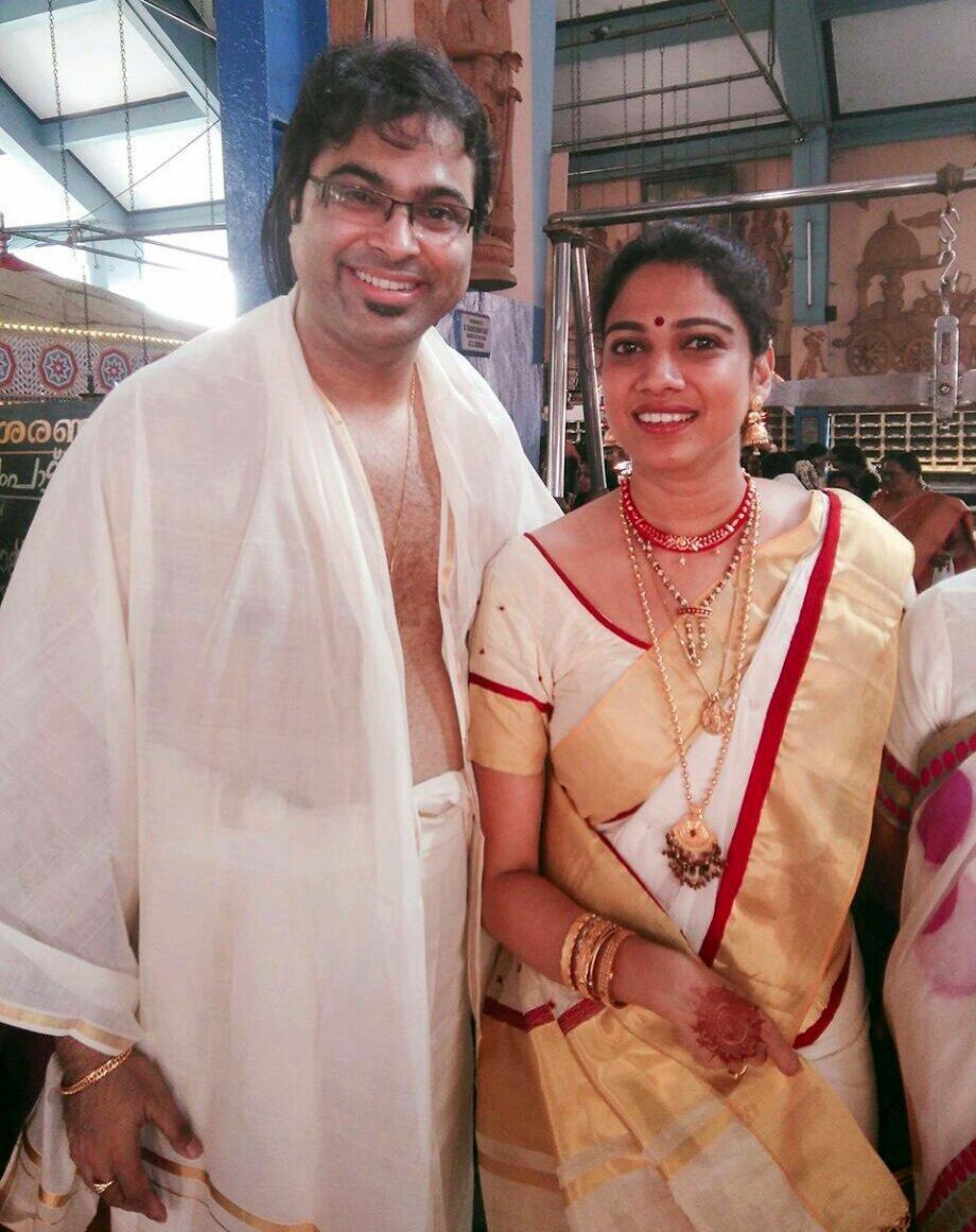 Singer Gayatri Asokan Wedding Photos 001
