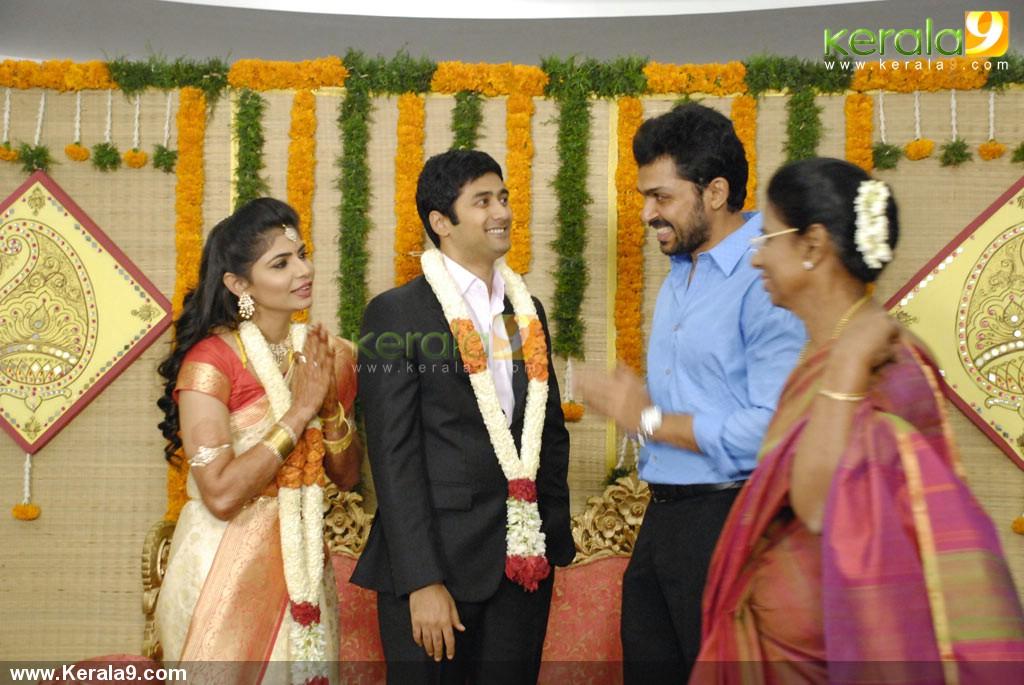 Karthik At Chinmayi Rahul Ravindran Wedding Reception Photos 00189