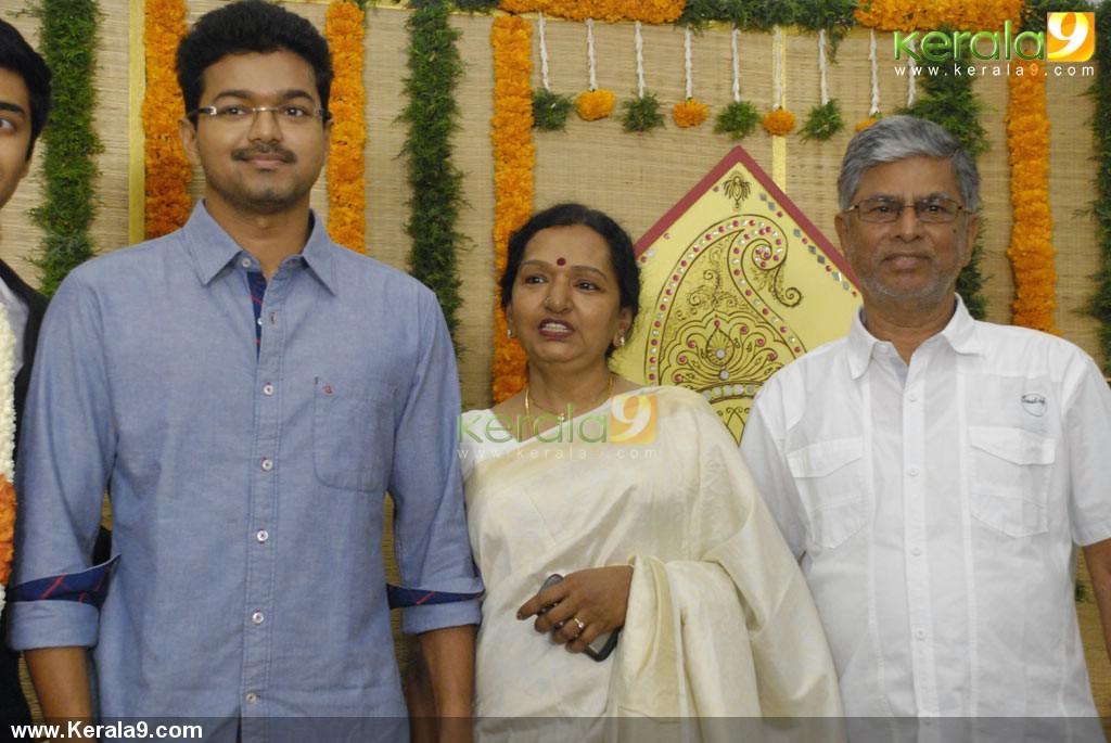 Vijay At Singer Chinmayi Wedding Reception Photos 003