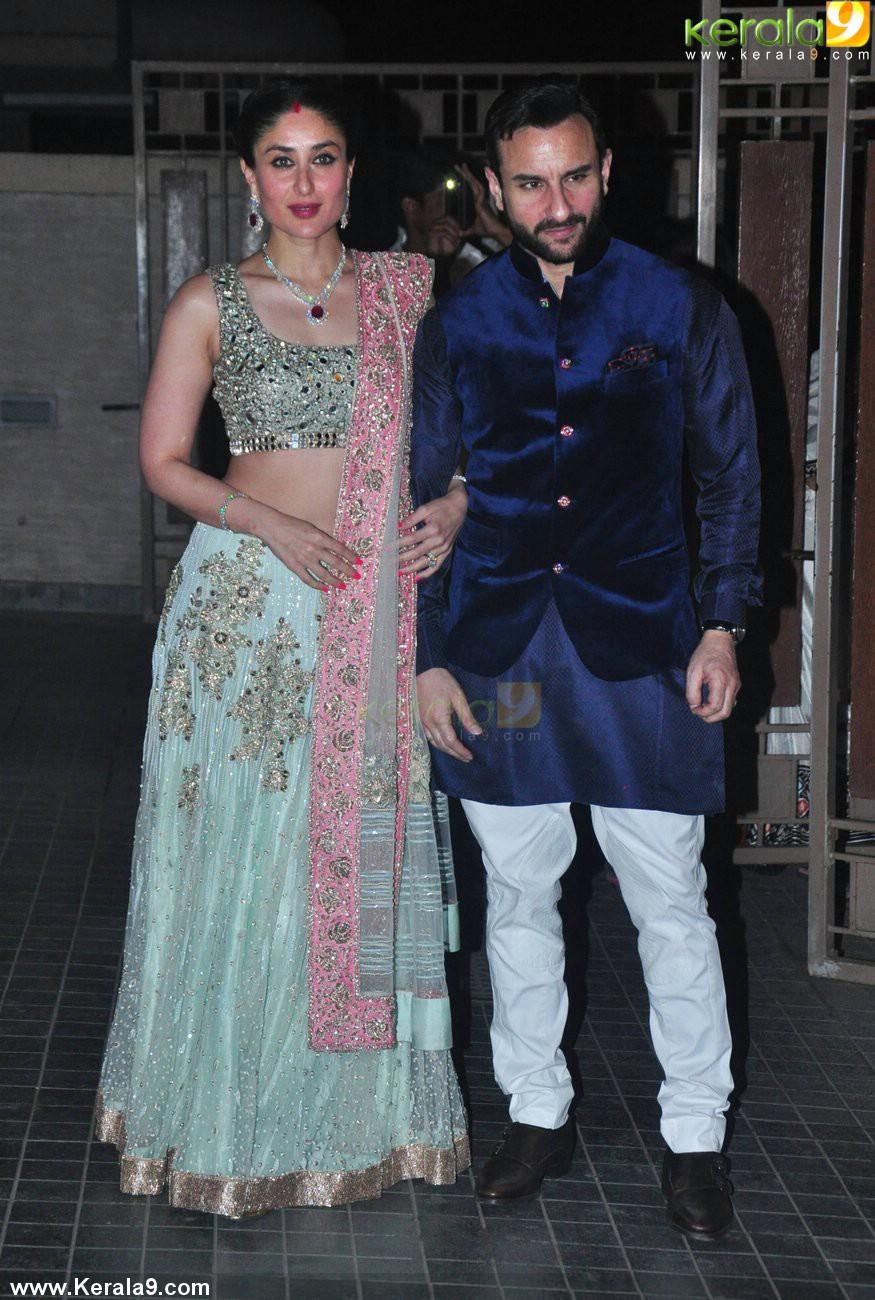Kareena Kapoor Saif Ali Khan At Soha Marriage Pics 002