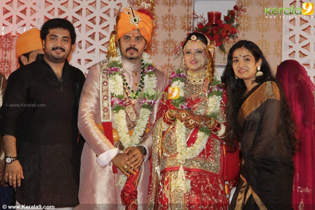sreesanth wedding reception photos 15974 kerala9 com