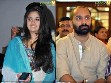 Fahad Fazil with Keerthi Suresh